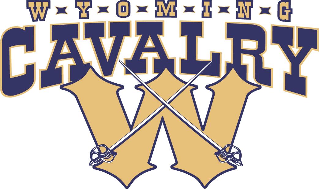 Wyoming Cavalry Logo Primary Logo (2011-2014) -  SportsLogos.Net