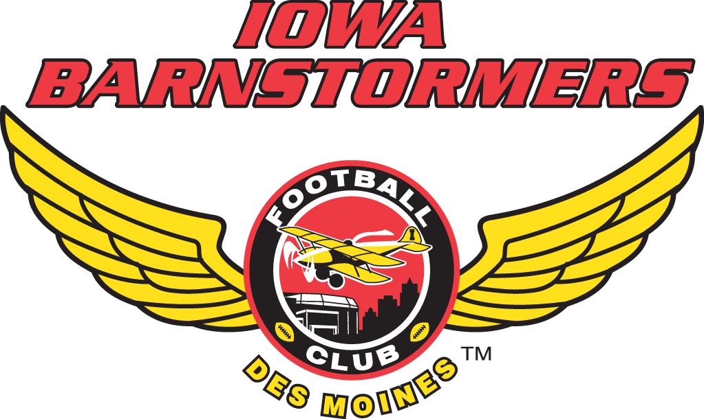 Iowa Barnstormers  Logo Primary Logo (2015-Pres) -  SportsLogos.Net