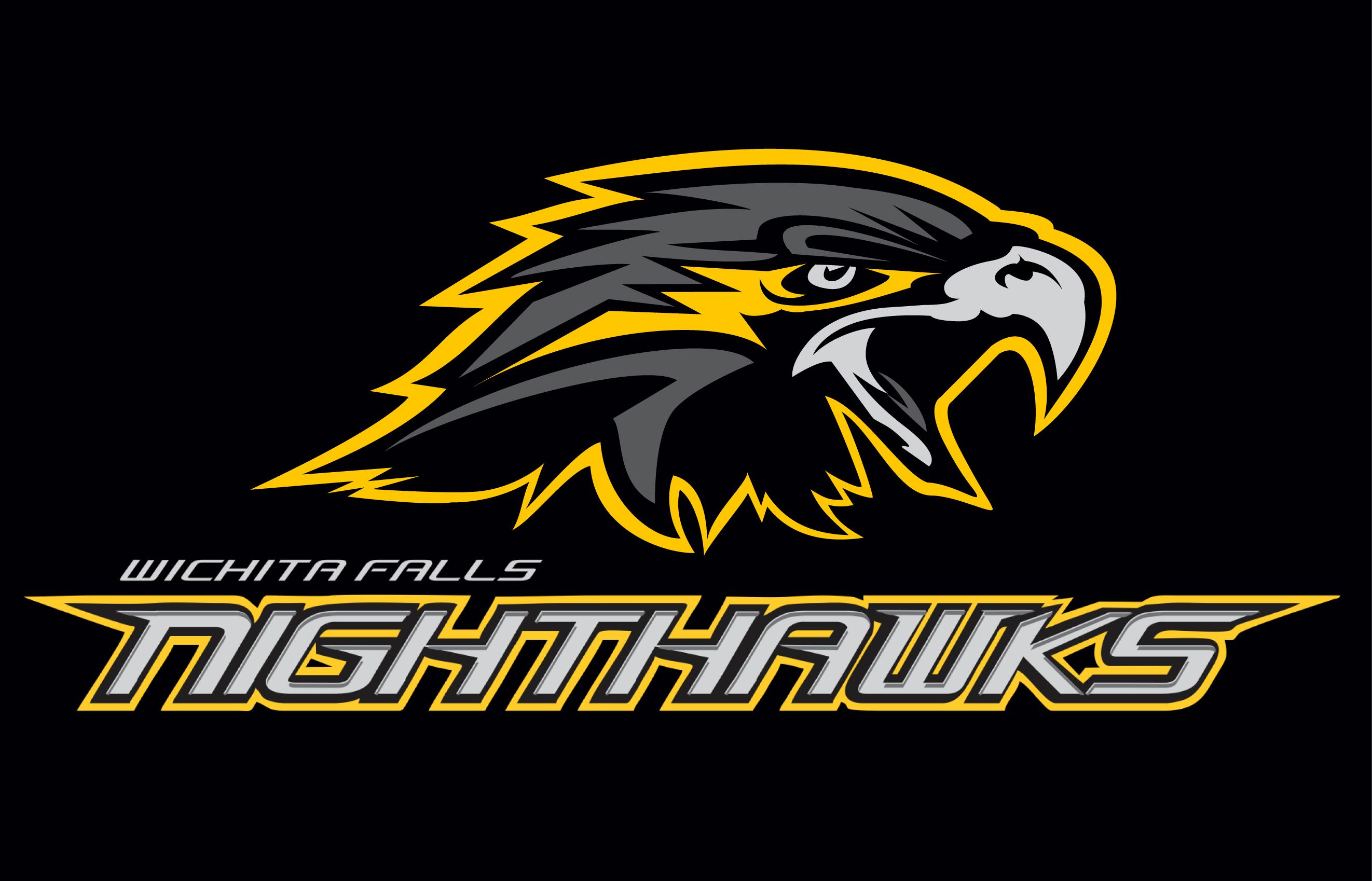 Wichita Falls Nighthawks Logo Primary Dark Logo (2015-Pres) -  SportsLogos.Net
