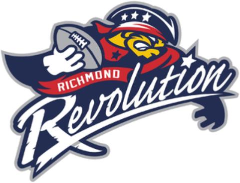 Richmond Revolution Logo Primary Logo (2010-2011) -  SportsLogos.Net