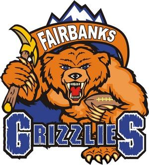Fairbanks Grizzlies Logo Primary Logo (2009-2011) -  SportsLogos.Net