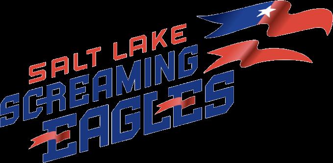 Salt Lake Screaming Eagles Primary Logo Indoor Football