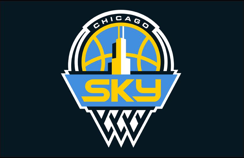 Chicago Sky Primary Dark Logo - Women's National ...