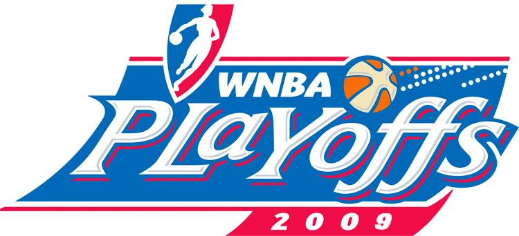 WNBA Playoffs Logo Primary Logo (2009) - 2009 WNBA Playoffs Logo SportsLogos.Net