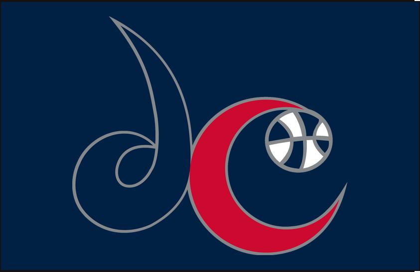 Washington Mystics Logo Alt on Dark Logo (2011-Pres) - Alternate on blue SportsLogos.Net