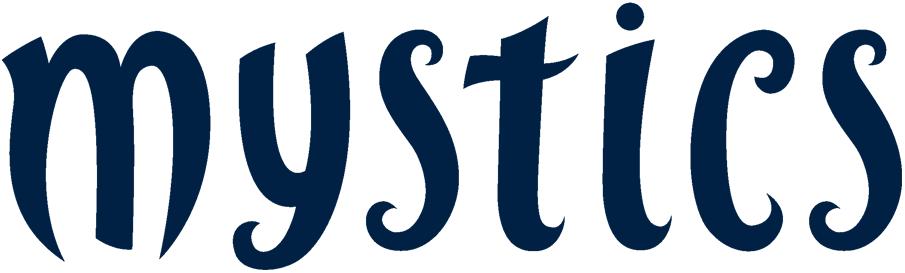 Washington Mystics Logo Wordmark Logo (2011-Pres) -  SportsLogos.Net