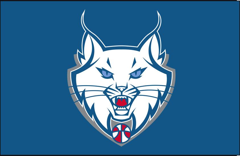 Minnesota Lynx Logo Alt on Dark Logo (2011-2017) - Partial on blue SportsLogos.Net