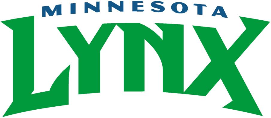 Minnesota Lynx Logo Wordmark Logo (1999-2017) -  SportsLogos.Net