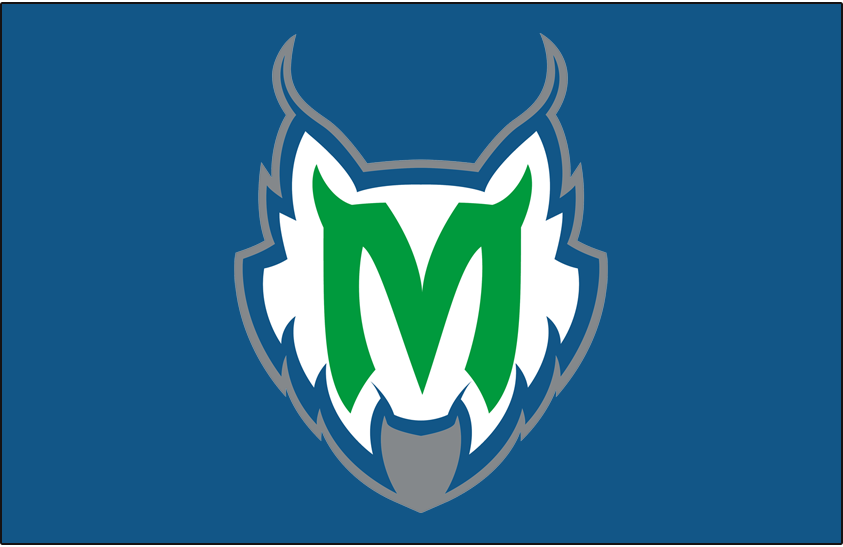 Minnesota Lynx Logo Alt on Dark Logo (1999-2017) - Alternate on blue SportsLogos.Net