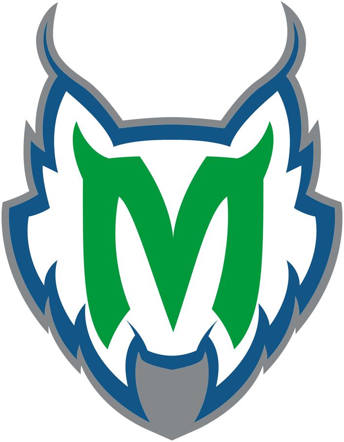 Minnesota Lynx Logo Alternate Logo (1999-2017) - Green M on white cat's head SportsLogos.Net
