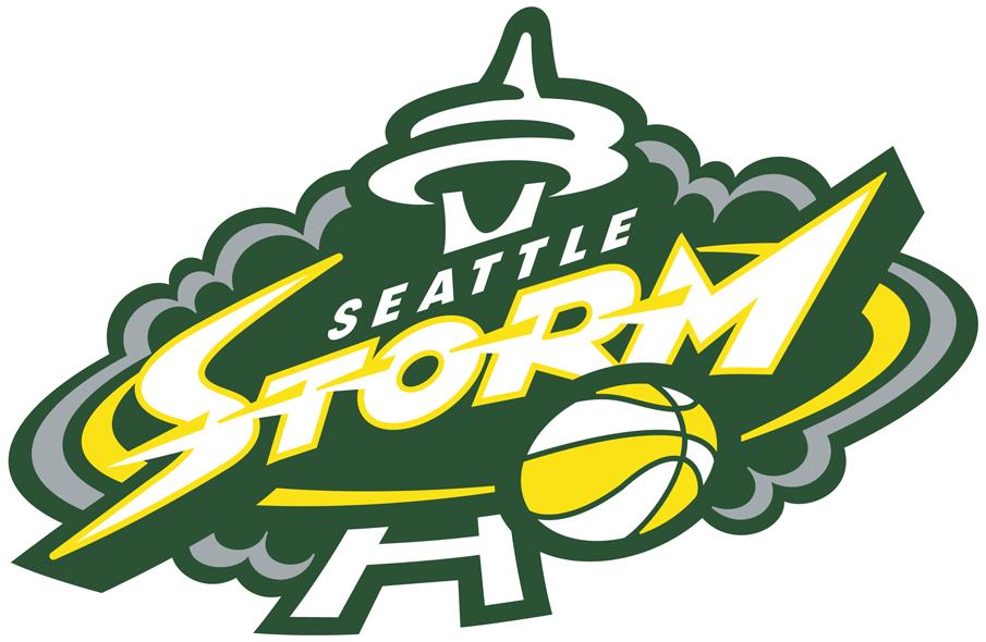Seattle Storm Logo Primary Logo (2016-2020) -  SportsLogos.Net