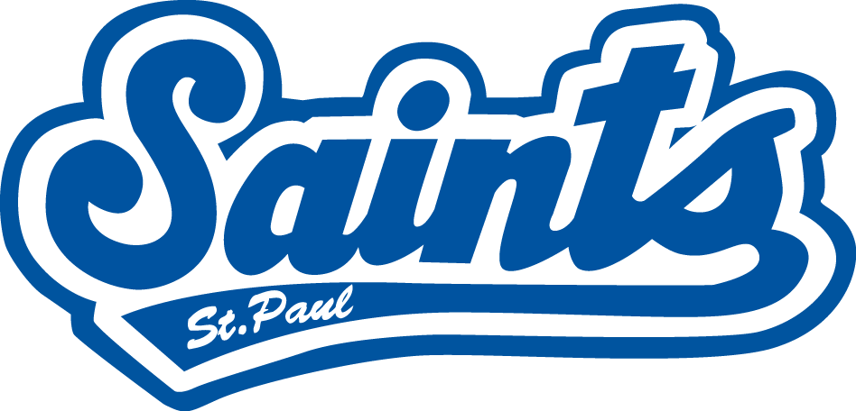 St. Paul Saints Logo Primary Logo (2016-2020) -  SportsLogos.Net