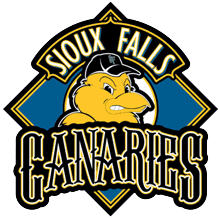 Sioux Falls Canaries Logo Primary Logo (2006-2009) -  SportsLogos.Net