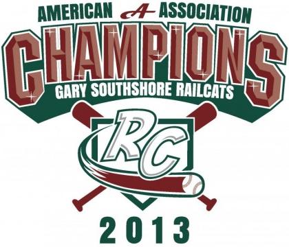 Gary SouthShore RailCats Logo Champion Logo (2013) -  SportsLogos.Net