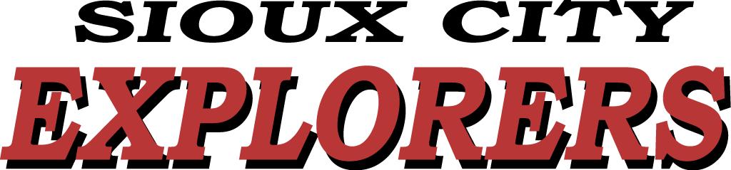 Sioux City Explorers Logo Wordmark Logo (2006-Pres) -  SportsLogos.Net