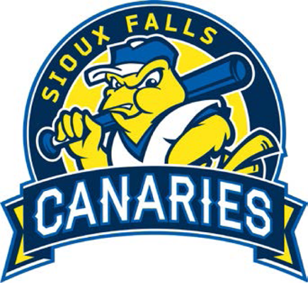 Sioux Falls Canaries Logo Primary Logo (2014-Pres) -  SportsLogos.Net