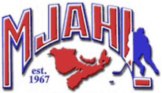 Maritime Jr A Hockey League  Logo Primary Logo (1995/96-2001/02) -  SportsLogos.Net
