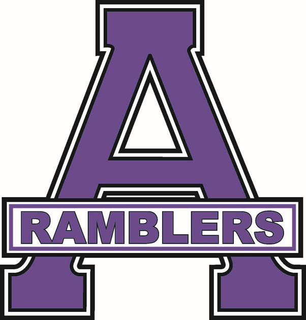 Amherst Ramblers Logo Primary Logo (1997/98-Pres) -  SportsLogos.Net