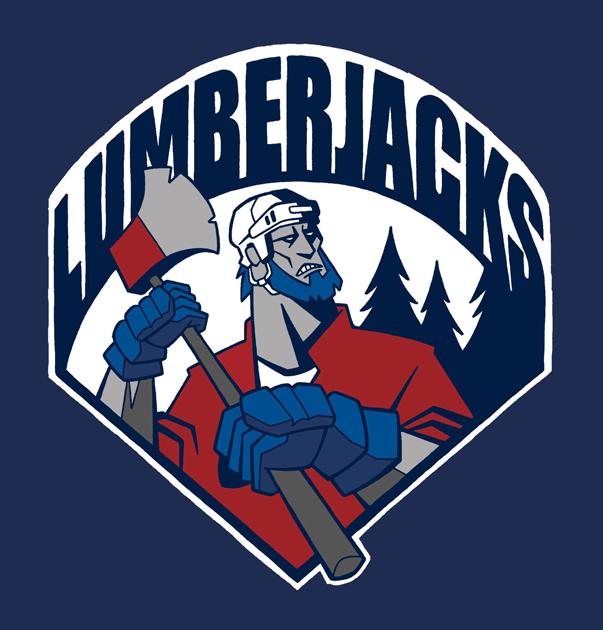 Bridgewater  Lumberjacks Logo Jersey Logo (2008/09-2013/14) -  SportsLogos.Net