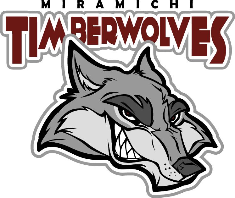 Miramichi  Timberwolves Logo Primary Logo (2007/08-Pres) -  SportsLogos.Net