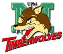 Miramichi Timberwolves Logo Primary Logo (2000/01-2006/07) -  SportsLogos.Net
