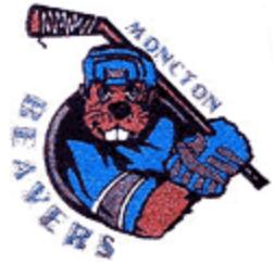 Moncton Beavers Logo Primary Logo (1993/94-2003/04) -  SportsLogos.Net