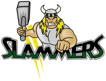 Woodstock Slammers Logo Primary Logo (2000/01-2009/10) -  SportsLogos.Net