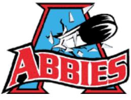 Charlottetown Abbies Logo Primary Logo (2000/01-2002/03) -  SportsLogos.Net