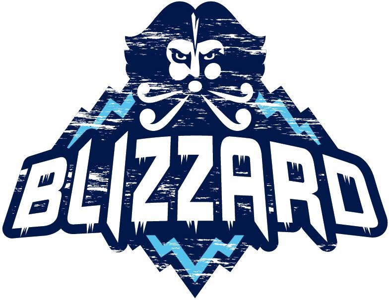 Edmundston  Blizzard Logo Primary Logo (2017/18-Pres) -  SportsLogos.Net