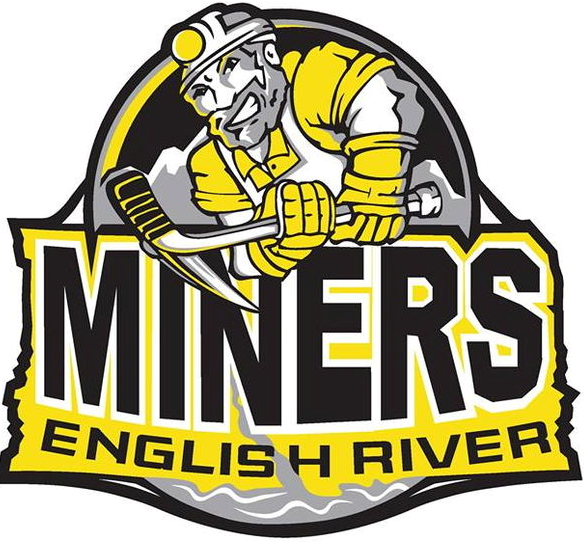 English River  Miners Logo Primary Logo (2013/14-Pres) -  SportsLogos.Net