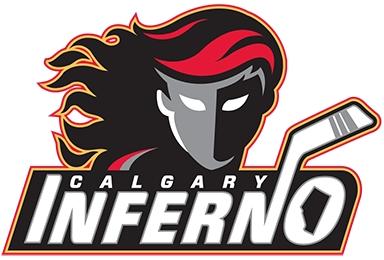 Calgary  Inferno Logo Primary Logo (2012/13-Pres) -  SportsLogos.Net