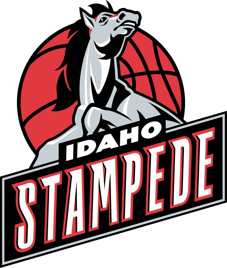 Idaho Stampede Logo Primary Logo (2012/13-2013/14) -  SportsLogos.Net
