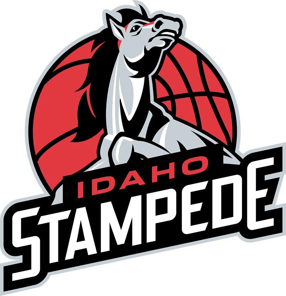 Idaho Stampede Logo Primary Logo (2014/15-2015/16) -  SportsLogos.Net