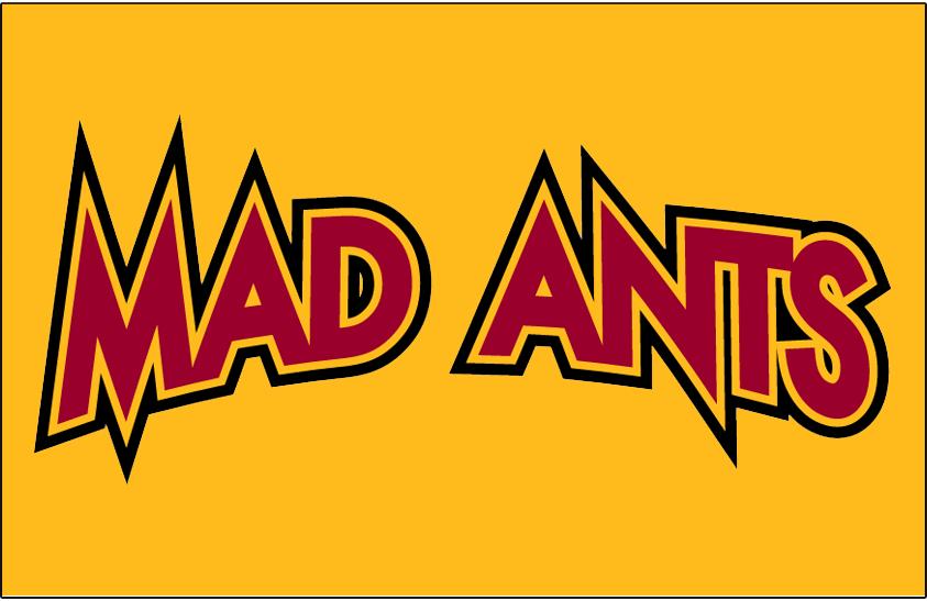 Fort Wayne Mad Ants Logo Jersey Logo (2006/07-2016/17) -  SportsLogos.Net