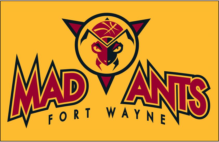 Fort Wayne Mad Ants Logo Primary Dark Logo (2006/07-2016/17) -  SportsLogos.Net