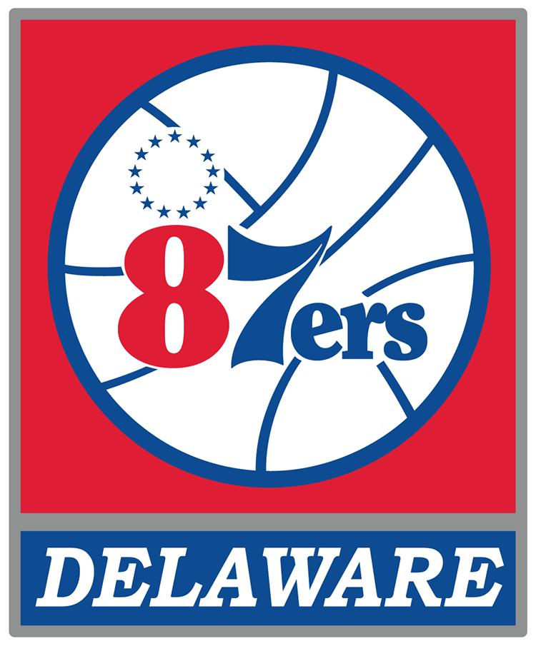 Delaware 87ers Logo Primary Logo (2012/13-2017/18) -  SportsLogos.Net