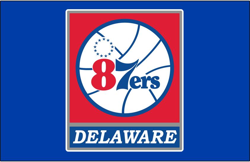 Delaware 87ers Logo Primary Dark Logo (2012/13-2017/18) -  SportsLogos.Net