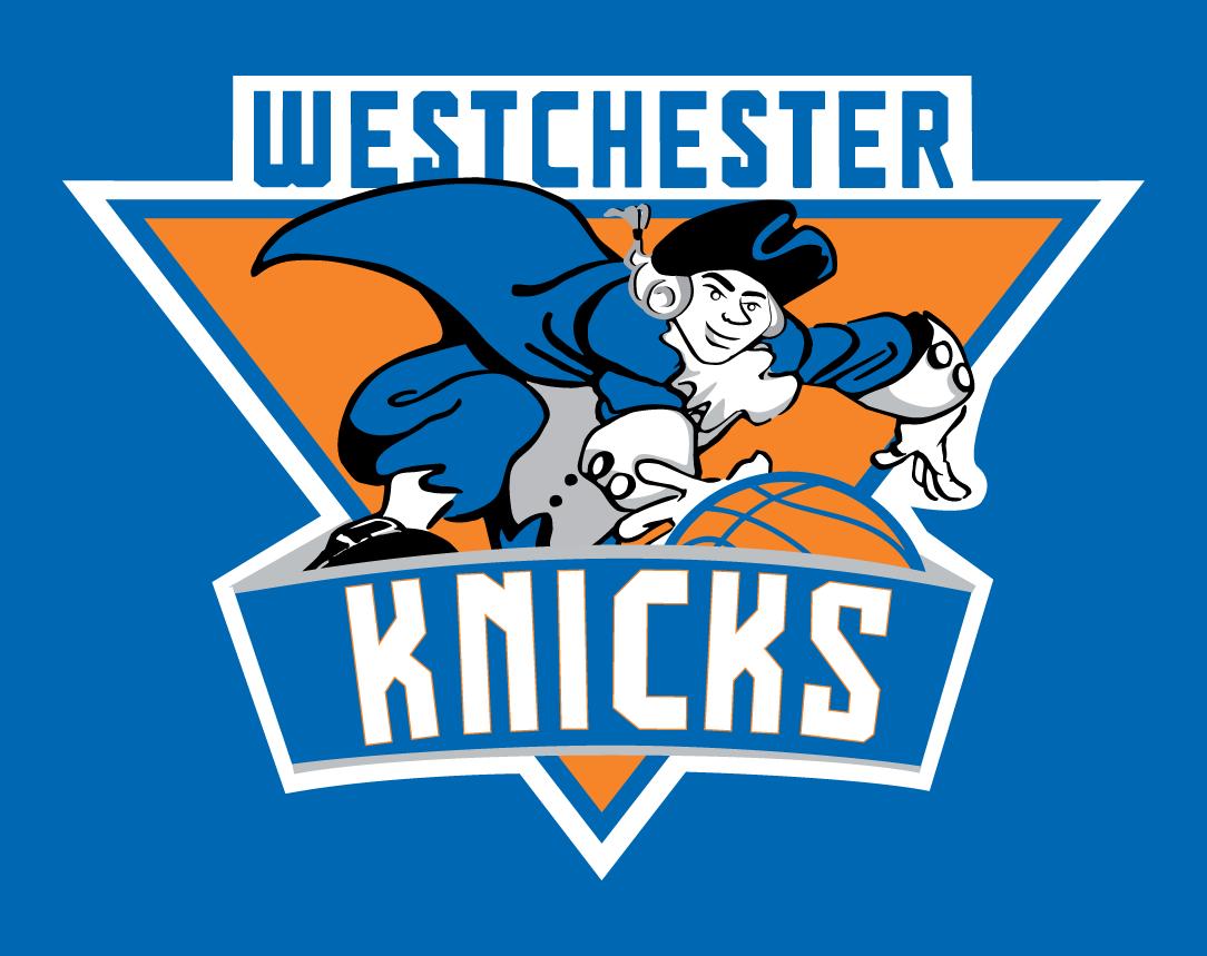 Westchester Knicks Logo Primary Dark Logo (2013/14-2014/15) -  SportsLogos.Net