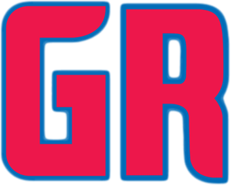 Grand Rapids Drive Logo Misc Logo (2013/14) - Prior to announcing a name, the Grand Rapids Drive used this logo, a red and blue GR, to promote and market the franchise. After the name was announced this design was placed on a blue and white basketball graphic and used as the official team partial logo. SportsLogos.Net