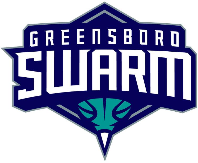Greensboro Swarm Logo Primary Logo (2016/17-Pres) -  SportsLogos.Net