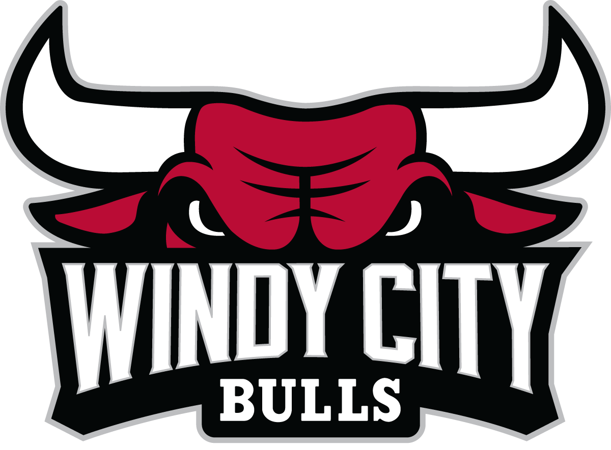 Windy City Bulls Logo Primary Logo (2016/17-Pres) -  SportsLogos.Net