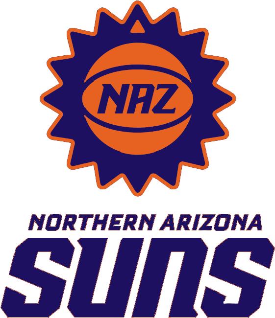 Northern Arizona Suns Logo Primary Logo (2016/17-2019/20) -  SportsLogos.Net