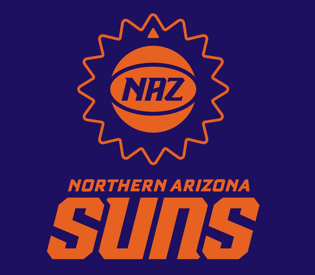 Northern Arizona Suns Logo Alternate Logo (2016/17-2019/20) -  SportsLogos.Net