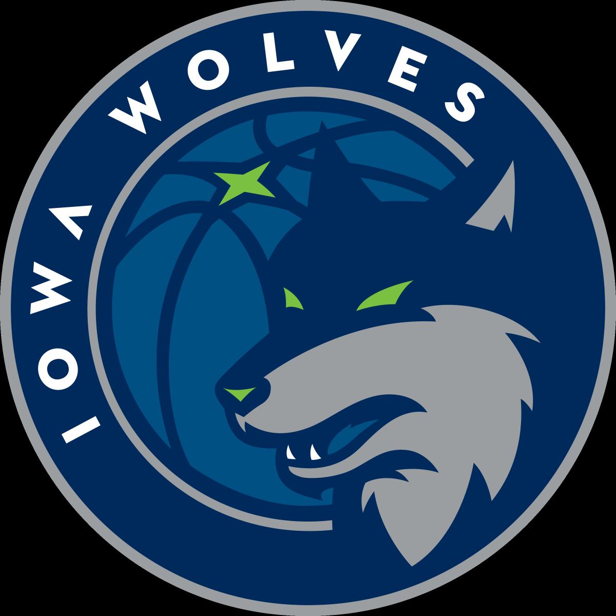 Iowa  Wolves Logo Primary Logo (2017/18-Pres) -  SportsLogos.Net