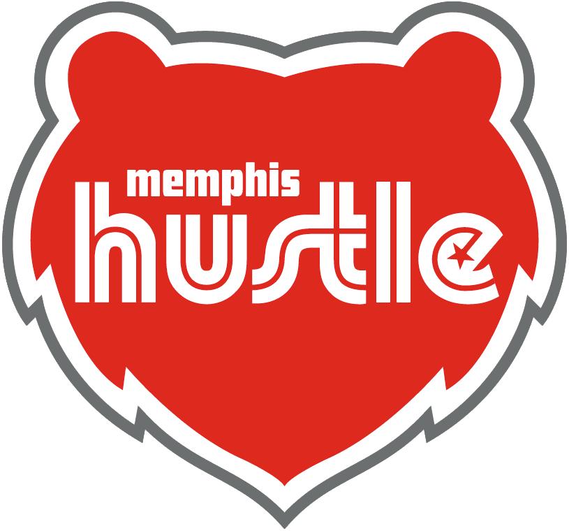 Memphis Hustle Logo Primary Logo (2017/18-Pres) -  SportsLogos.Net