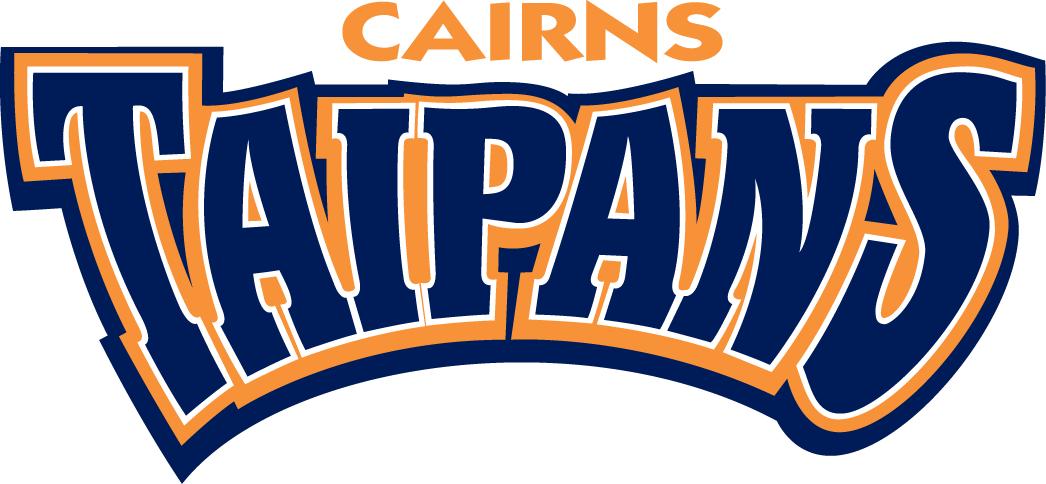 Cairns Taipans Logo Wordmark Logo (1999/00-Pres) -  SportsLogos.Net