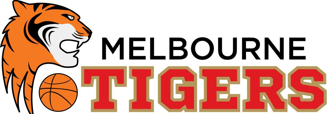 Melbourne Tigers Logo Primary Logo (2012/13-2013/14) -  SportsLogos.Net