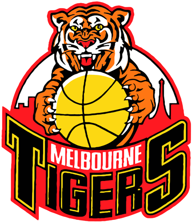 Melbourne Tigers Logo Primary Logo (1984/85-2004/05) -  SportsLogos.Net