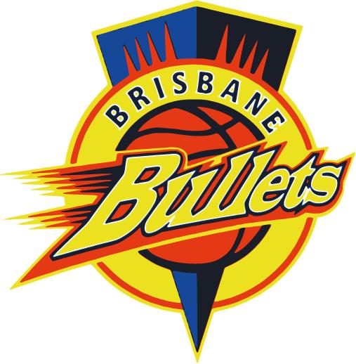 Brisbane  Bullets Logo Primary Logo (1992/93-2007/08) -  SportsLogos.Net