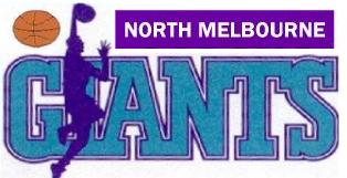 North Melbourne  Giants Logo Primary Logo (1987/88-1997/98) -  SportsLogos.Net